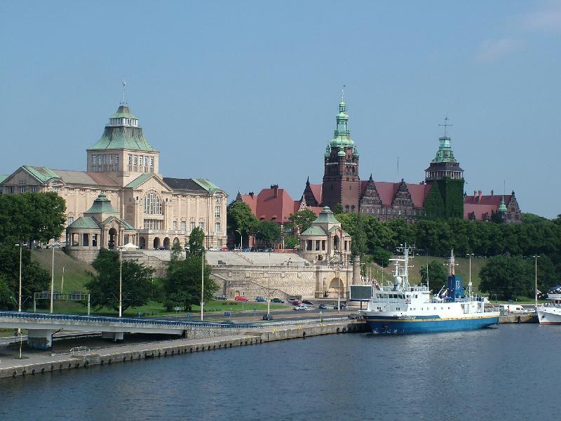 Stettin - Hakenterrassen