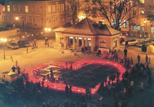 Chełmno Valentinstag - die Stadt der Verliebten.