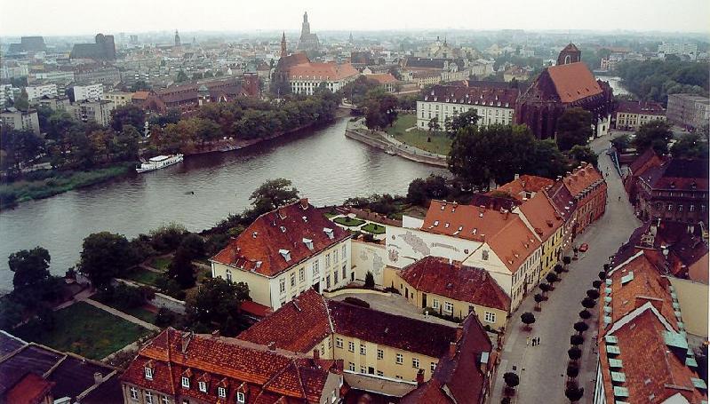 Breslau aus der Luft