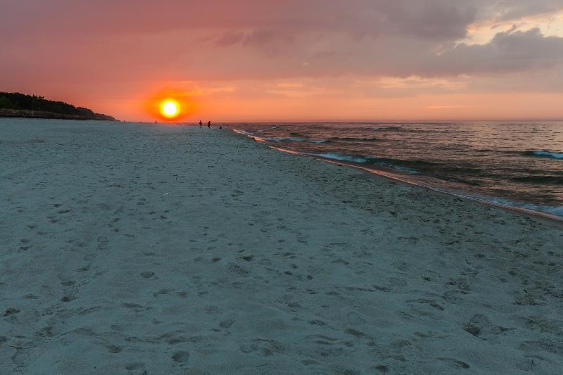 Strand von Jastarnia - Halbinsel Hel