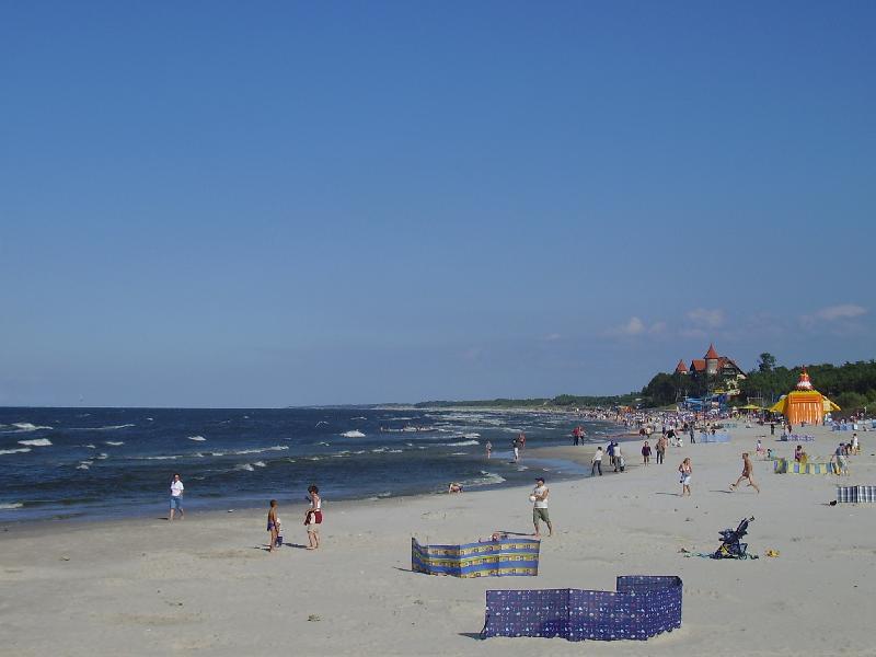 Strand bei Łeba