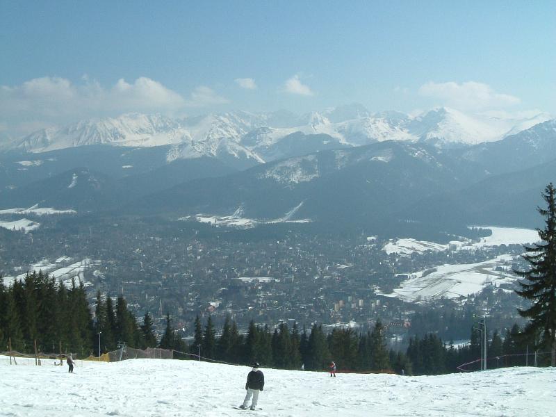 Zakopane na nartach
