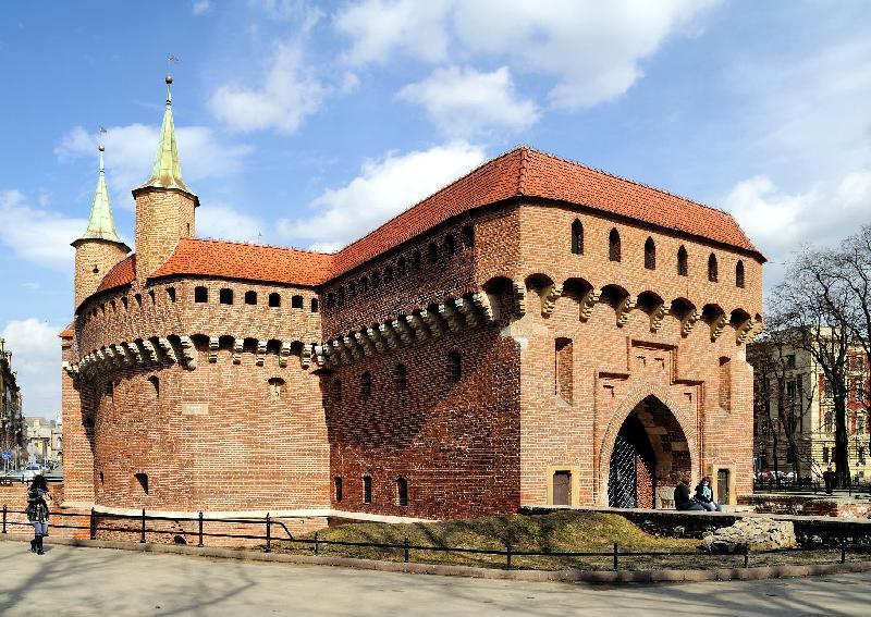 Barbakan in Krakau - hervorragend erhalten