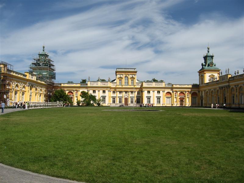 Wilanów Palast in Warschau