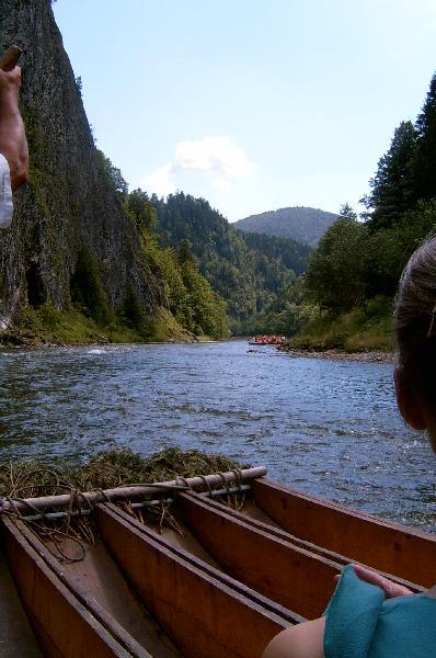 Pieninen Flossfahrt auf dem Dunajec