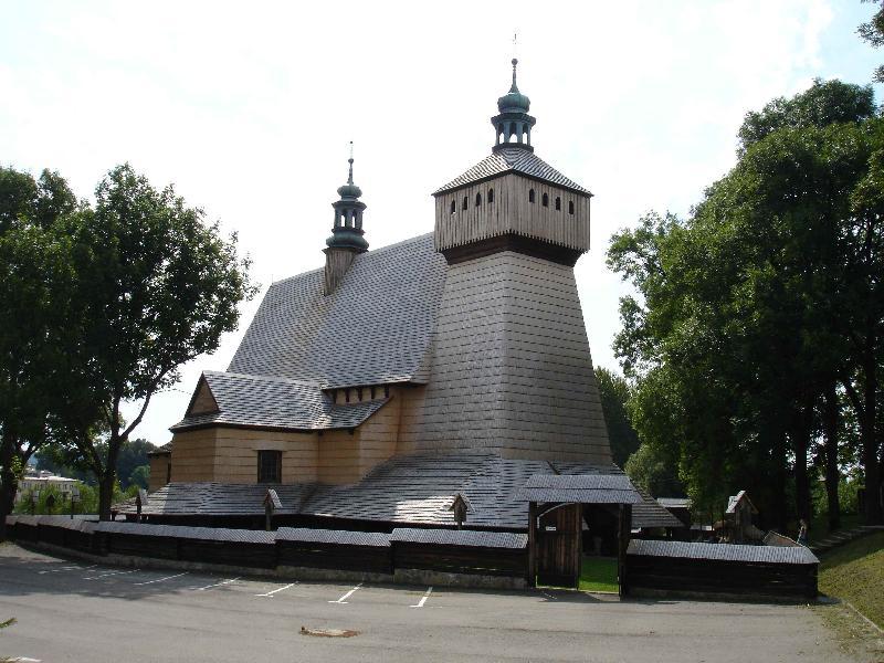 Holzkirche in Haczów