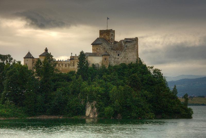 Burg in Niedzica - Kleinpolen