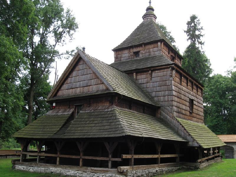 Holzkirche in Radruż - UNESCO Welterbe