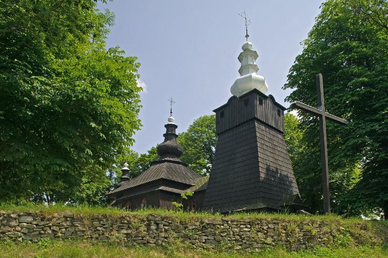 Holzkirche Brunary - UNESCO Welterbe