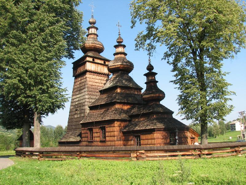 Holzkirche in Kwiatoń