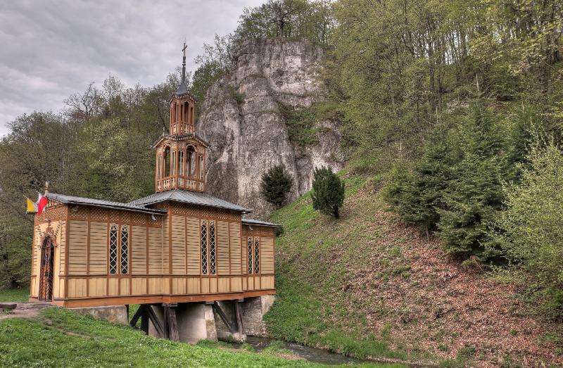 Kapelle auf dem Wasser