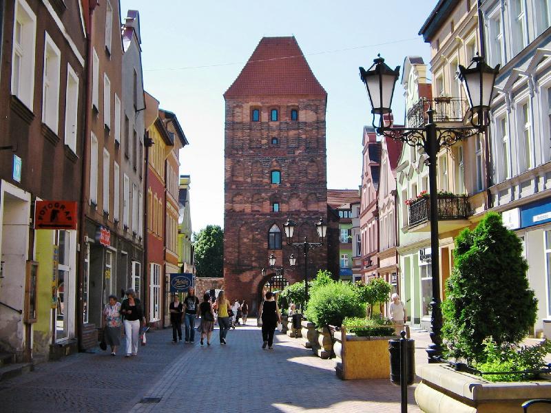 Stadttor von Chojnice