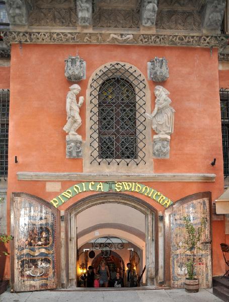 Gaststätte Schweidnitzer Keller in Breslau - offen seit 1273