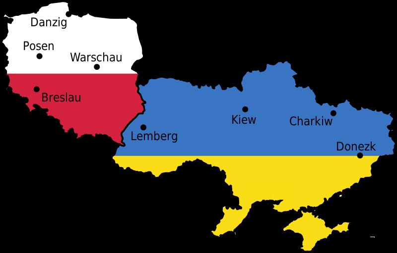 Austragungsorte EM 2012 in Polen und Ukraine