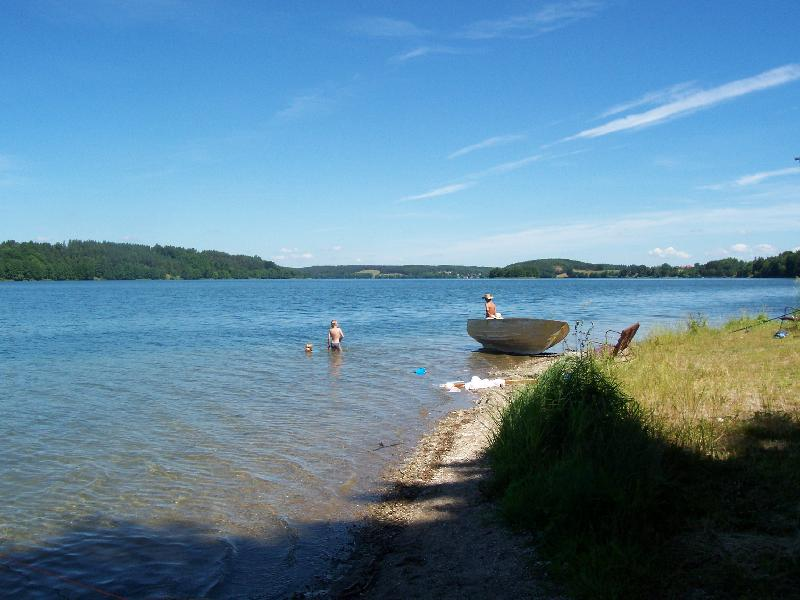 Oberer Radunski See in der Kaschubei