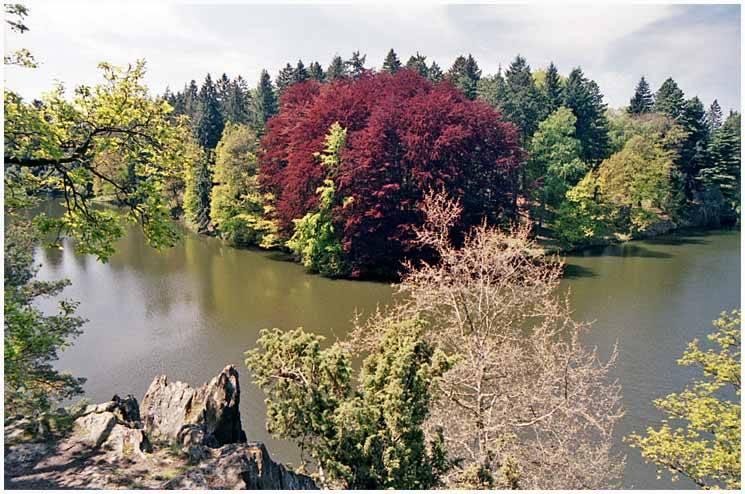 Pruhonice Fluss