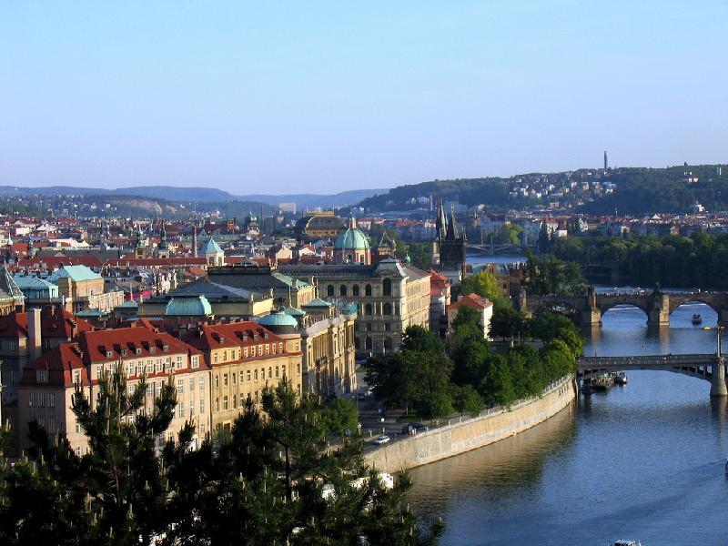 Prag mit Moldau