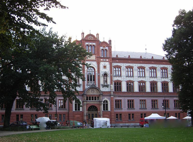 Gebäude der Universität Rostock