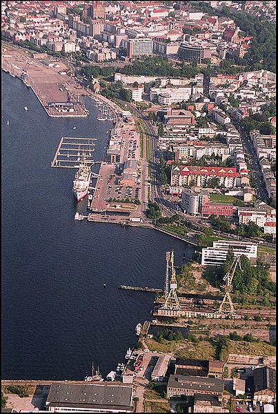 Rostock von oben