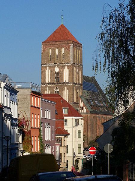 Das Gebäude der Nikolaikirche