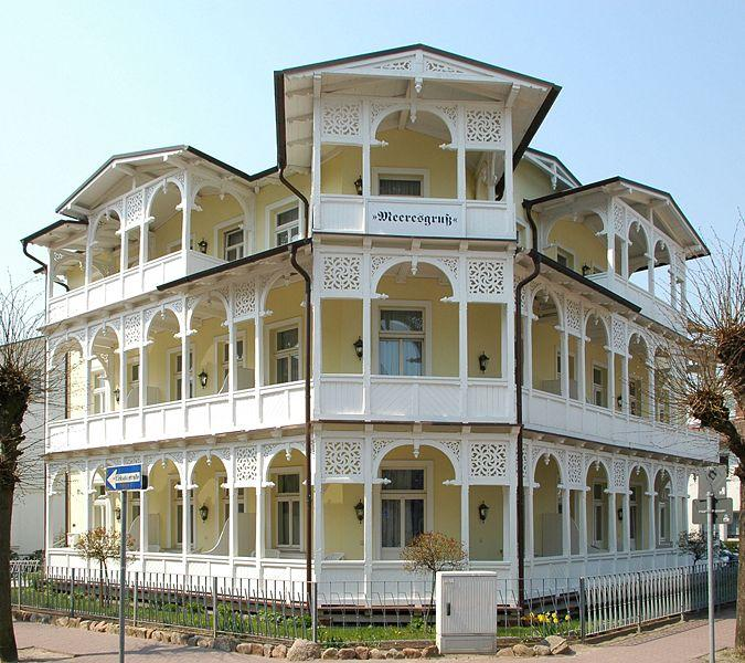 Bäderarchitektur in Binz