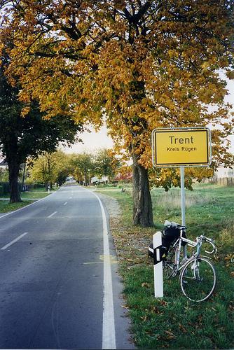 Ortseingang Trent