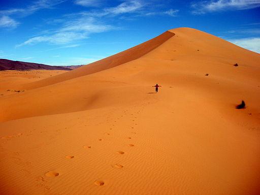 Wüste Marokko