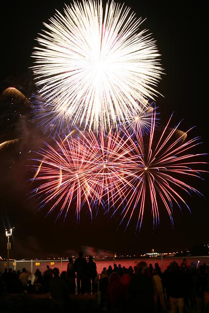Feuerwerk Volkfsfest