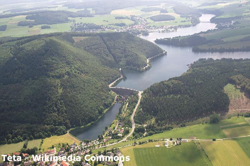 Diemelsee im Sauerland