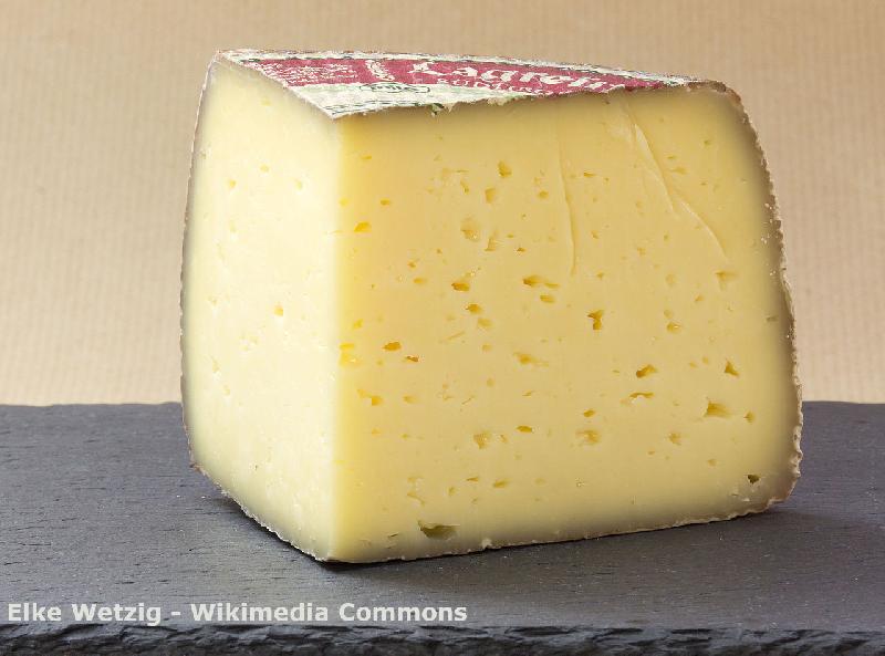 Typischer Käse im Sauerland