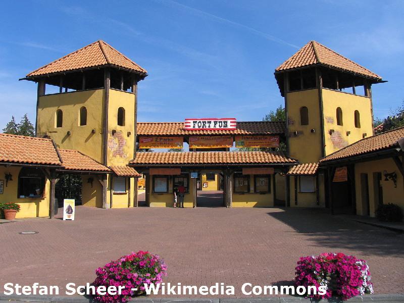 Das Fort Fun im Sauerland
