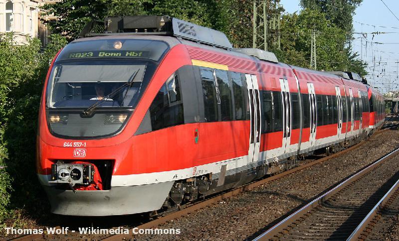 Mit dem Zug ins Sauerland