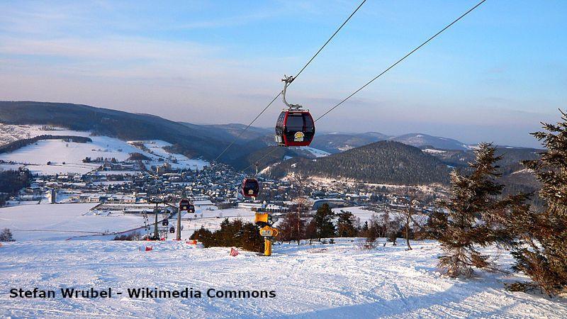 Skigebiet Willingen-Ettelsberg im Sauerland