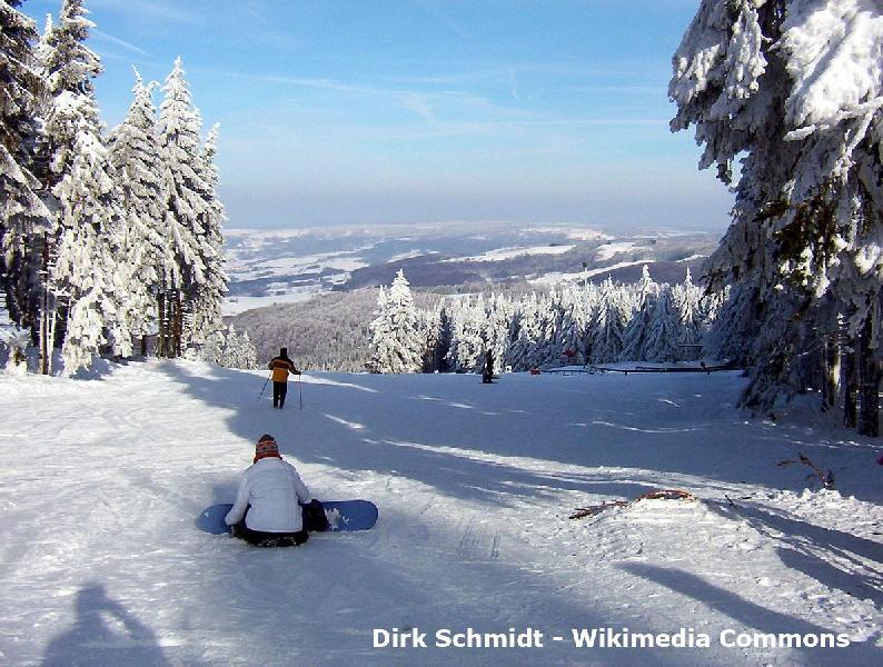 Skikarussell Winterberg Altastenberg im Sauerland