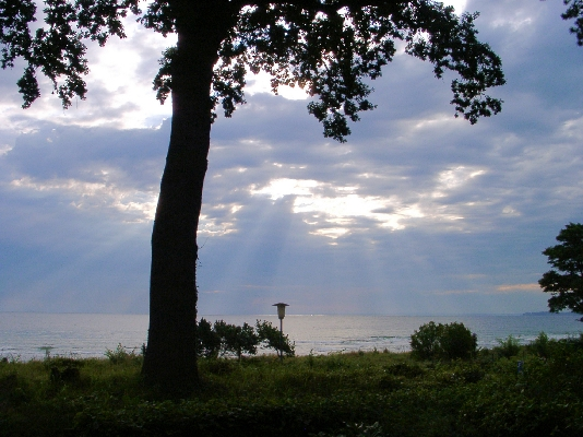 Die Lübecker Bucht ist eine Meeresbucht mit zahlreichen Badeorten