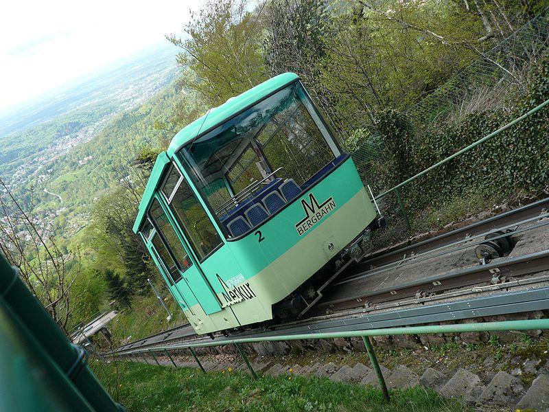 Merkurbahn bei Baden-Baden