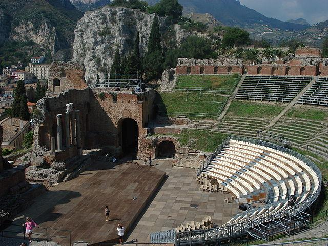 The Ancient Greek-Roman Theatre of Taormina