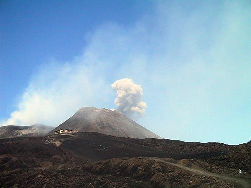 The Volcano Mount Etna