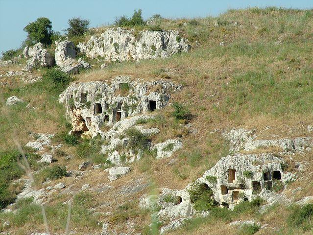 The Necropolis of Pantalica in the Siracusa Province, Sicily