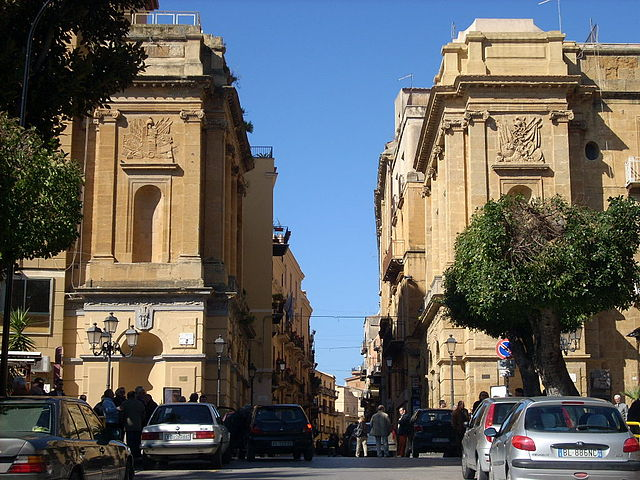 Porta di Ponte  in the Agrigento Old Town