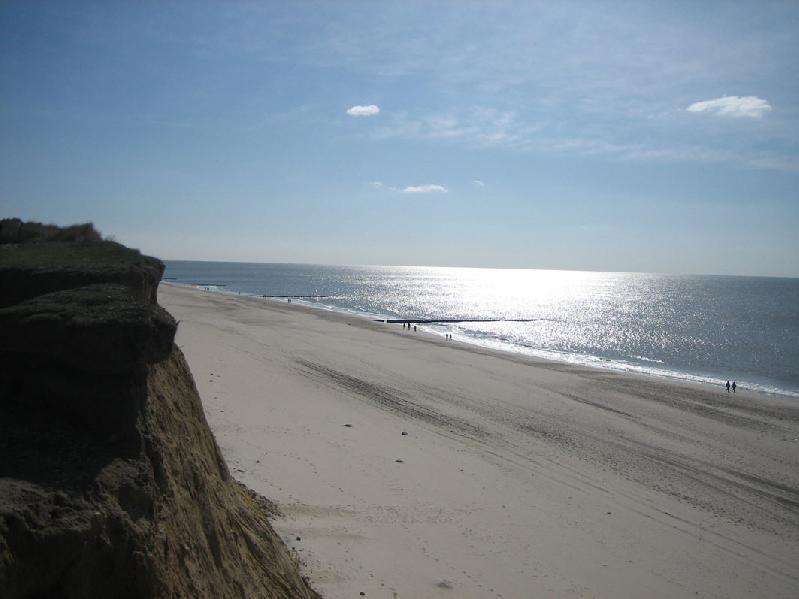 Kliff auf Sylt