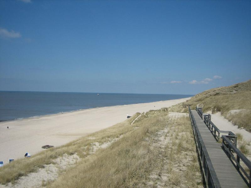 Way to the dune Sylt