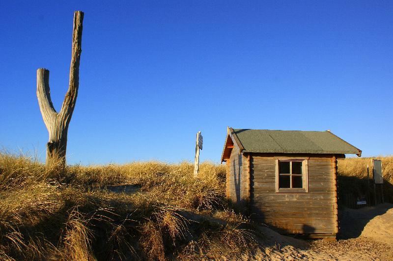 Strandhütte in Rantum