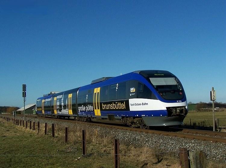 Zugverkehr Nord-Ostsee Bahn