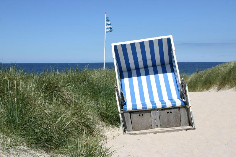 Beach chair Sylt