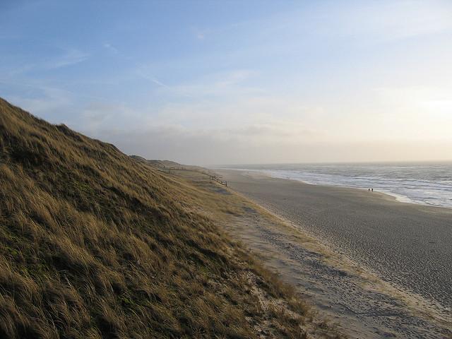 Strand und Dünenlandschaft auf Sylt