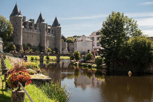 Brittany Josselin Castle