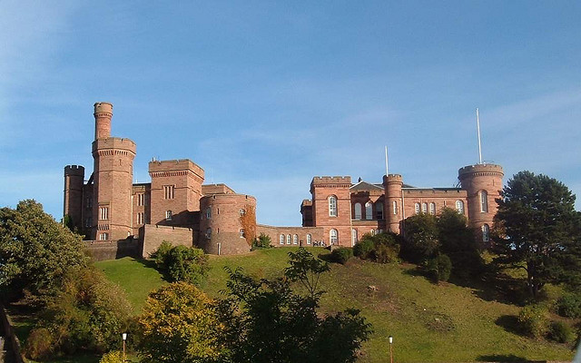 Scotland - Inverness Castle