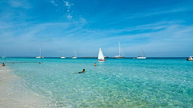 Strand von Ibiza