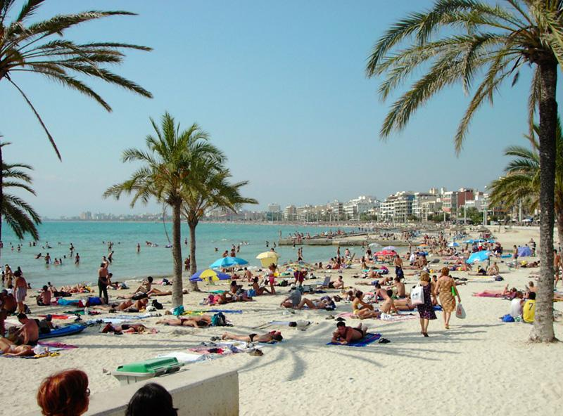 Platja de Palma in S'Arenal
